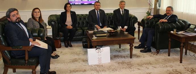 <h1>Prof.Dr.Muhammet Güven'i Ziyaret</h1>