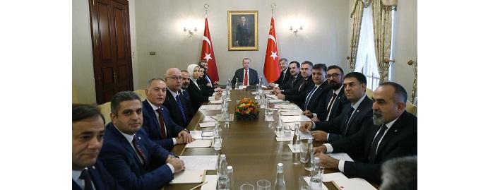 <h1>TC Cumhurbaşkanı Sn.Recep Tayyip Erdoğan'a Ziyaret</h1>