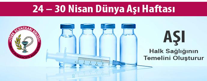 <h1>24 – 30 Nisan Dünya Aşı Haftası</h1>