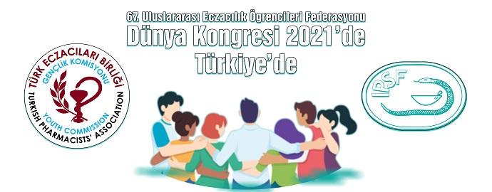 <h1>67.İPSF Dünya Kongresi 2021'de Türkiye'de</h1>