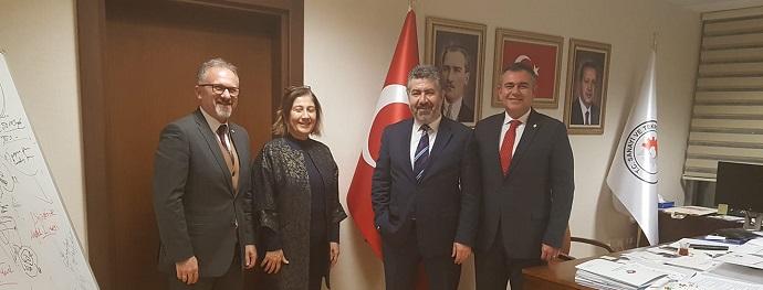 <h1>Sayın Dr.Çetin Ali Dönmez'i Ziyaret </h1>