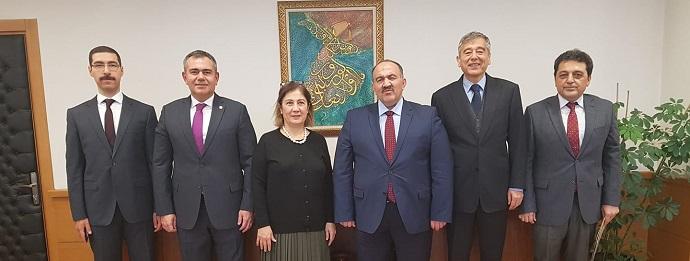 <h1>İşKur Genel Müdürü Sayın Cafer Uzunkaya'yı Ziyaret</h1>