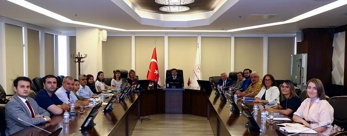 <h1>TİTCK–TEB–Türk Vet. Hekimleri Birliği Toplantıısı</h1>