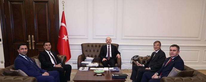 <h1>İçişleri Bakanı Sayın Süleyman Soylu İle Görüşme</h1>