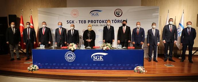 <h1>SGK Protokolü İmzalandı</h1>