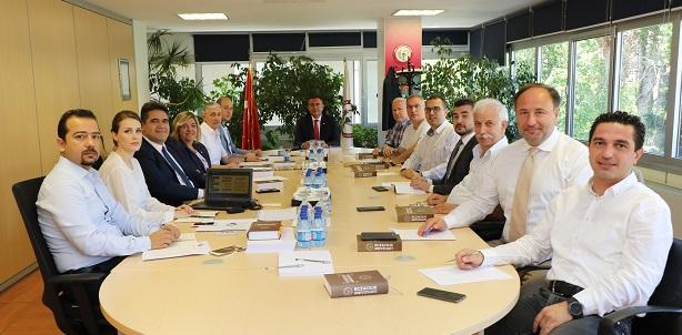 Mevzuat Komisyonu İlk Toplantısını Gerçekleştirdi