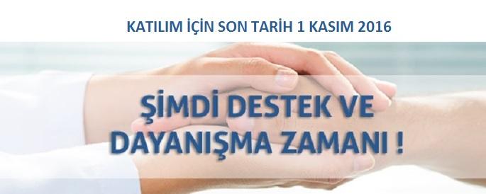 <h1>KATILIM İÇİN SON TARİH 1 KASIM 2016</h1>