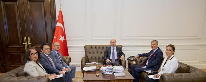 <h1>T.C.İçişleri Bakanı Süleyman Soylu'yu Ziyaret</h1>