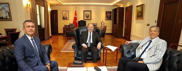 <h1>Başbakan Yardımcısı Prof.Dr.Recep Akdağ'ı Ziyaret</h1>