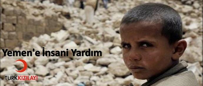 <h1>Yemen'e İnsani Yardım Kampanyası </h1>