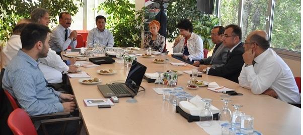 <h1>TEB ve Sektör Temsilcileri Toplantı Yaptı</h1>