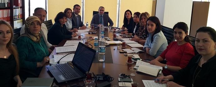 <h1>Muvazaa Değerlendirme Yönergesi Çalışma Toplantısı</h1>