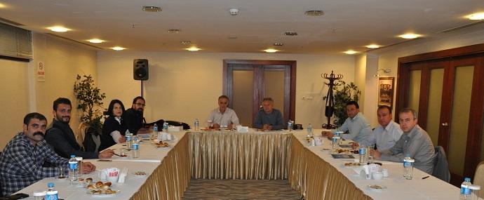 <h1>Kooperatifler Komisyonu İlk Toplantısını Yaptı</h1>