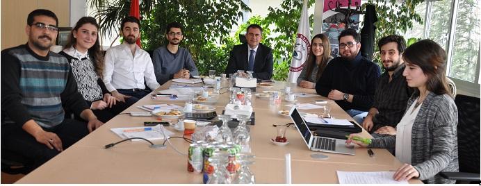 <h1>TEB Gençlik Komisyonu Toplantısı Gerçekleştirildi</h1>